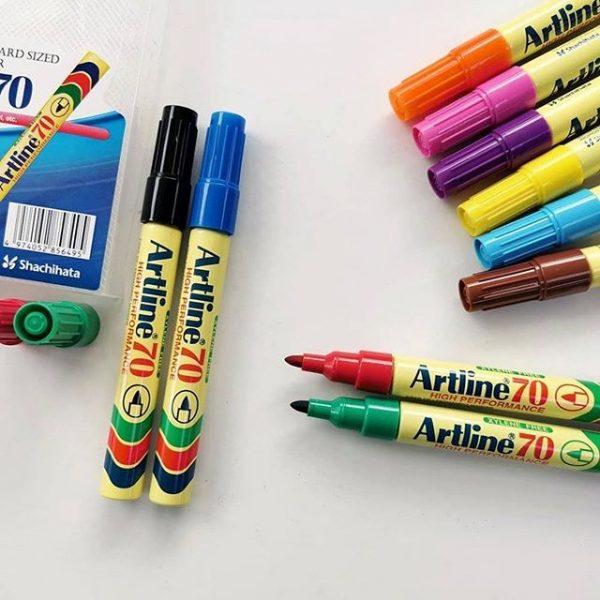 bút lông dầu ngòi tròn Artline