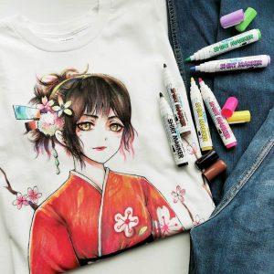 bút vẽ áo Artline